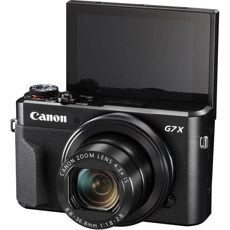 Canon Power Shot G7 X Mark II with display