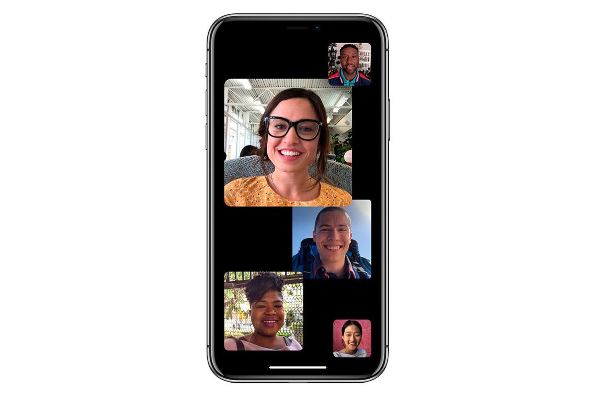 iOS 12 Face time