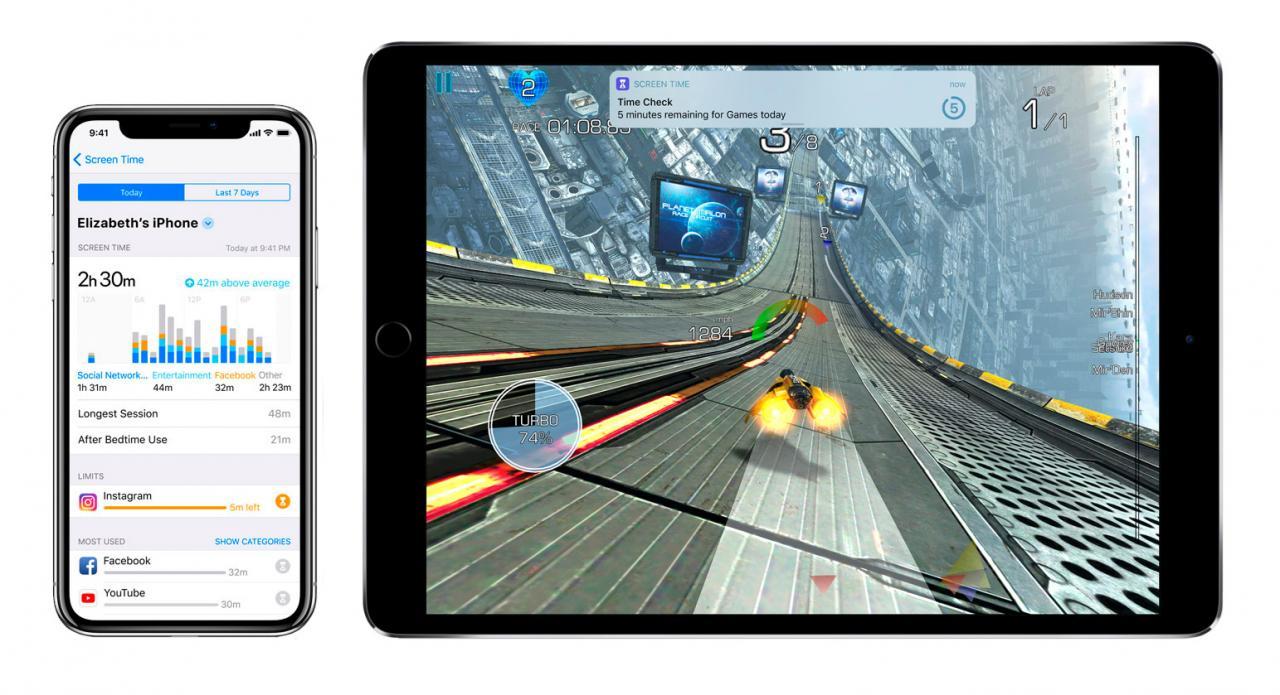iOS 12 screen time