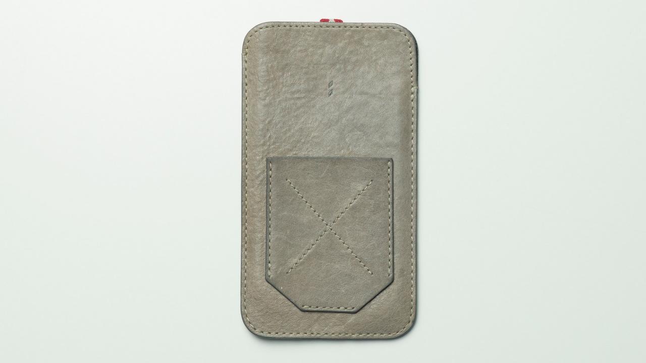 hardgraft Leather iPhone X Case