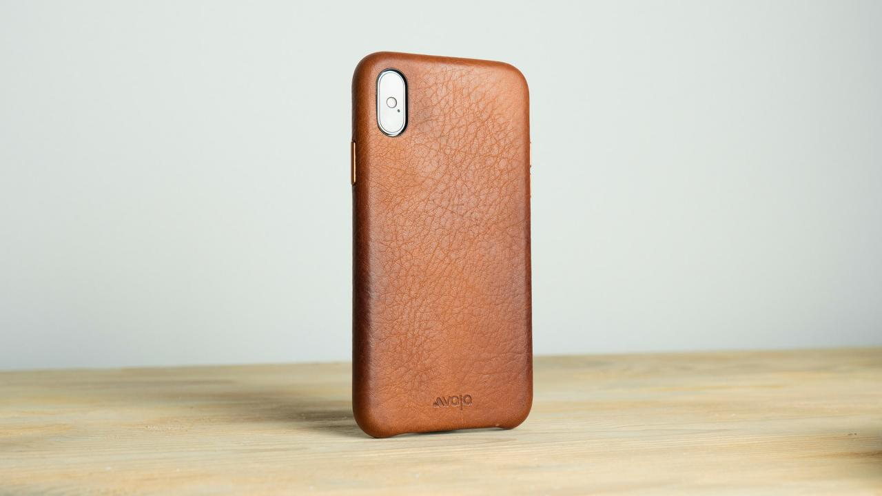 Vaja Leather iPhone X Case