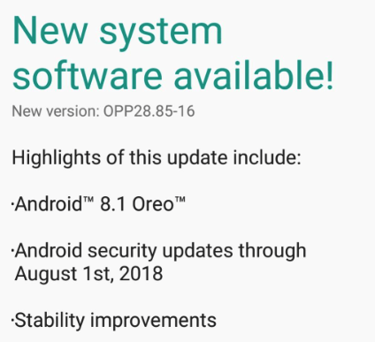 Android 8.1 Oreo for Moto G5 launched in India image